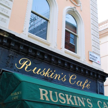 england - london - ruskin's cafe