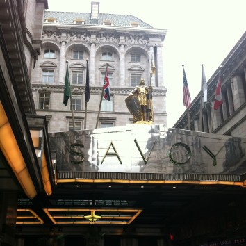 england - london - savoy hotel