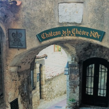france - eze - chateau de la chévre d'or