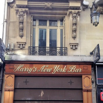 france - paris - harry's new york bar - closed