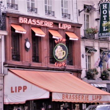 france - paris - brasserie lipp