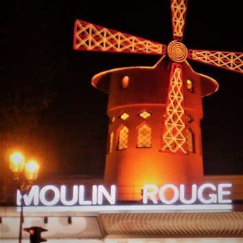 france - paris - moulin rouge