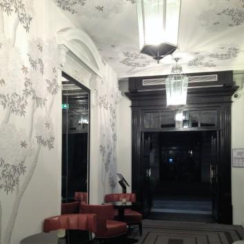 france - paris - sofitel hotel lobby
