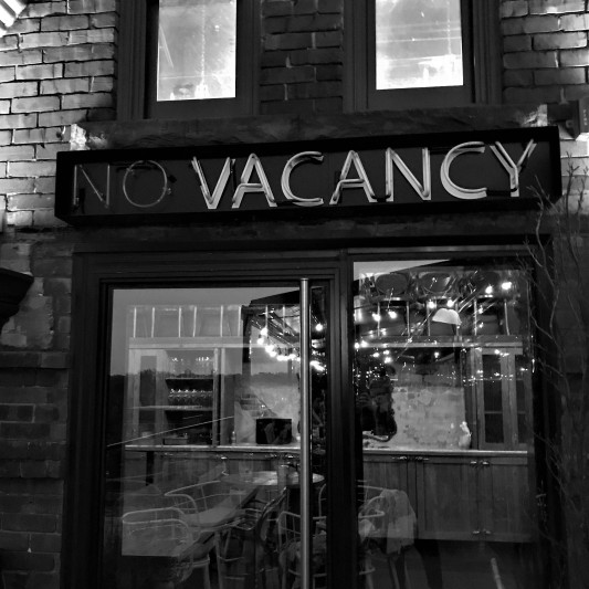 toronto - broadview hotel - rooftop bar - vacancy sign