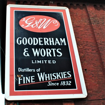 gooderham & worts sign - distillery district