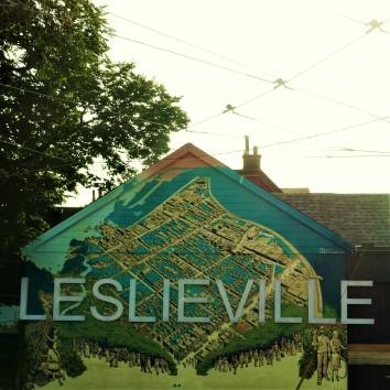 leslieville mural - queen & greenwood