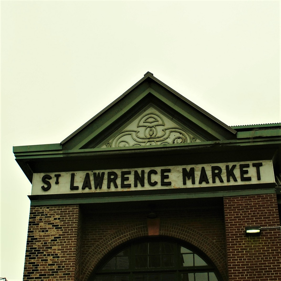 st. lawrence market - front & jarvis