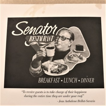 toronto - senator restuarant menu